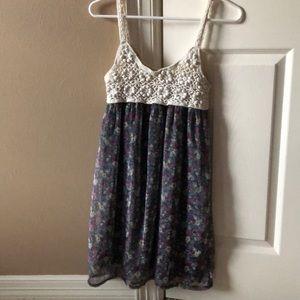Long knitted bohemian blouse!